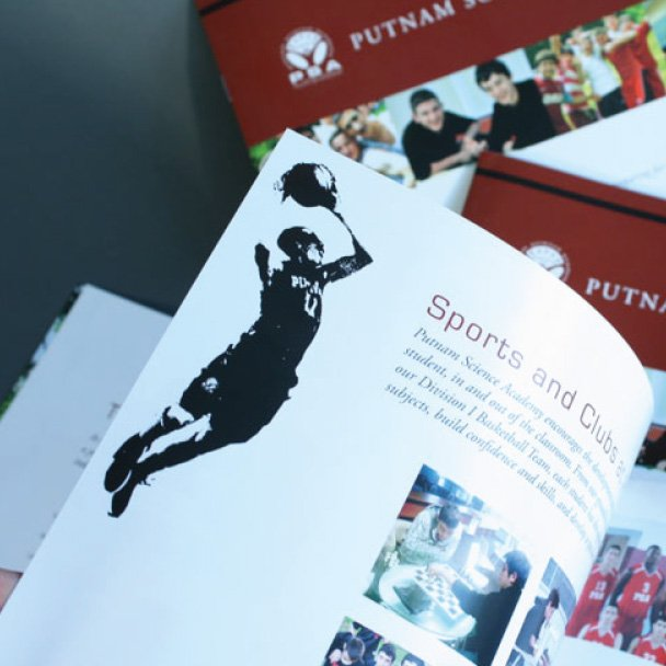 Putnam Science Academy Viewbook Design