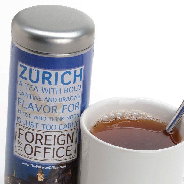 The Foreign Office - Tea Packaging Design